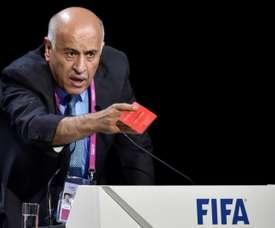 Rajoub has a ban. AFP
