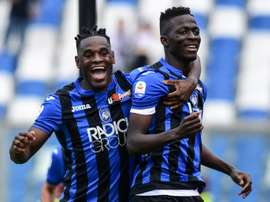 Atalanta go third, Calhanoglu keeps AC Milan in UCL chase. AFP