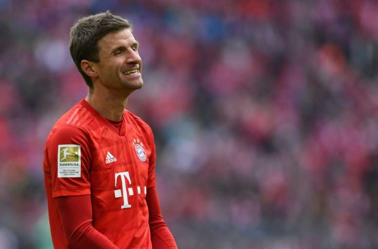 Benched Muller admits frustrations amid Bayern exit reports. AFP