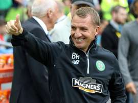 Celtics winger James Forrest hailed the positive impact new manager Brendan Rodgers, pictured, was having on the squad