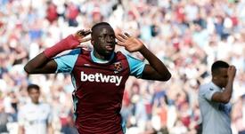 West Ham a remporté les trois points grâce à Kouyaté. AFP
