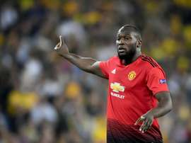 United want Lukaku to leave the club. AFP