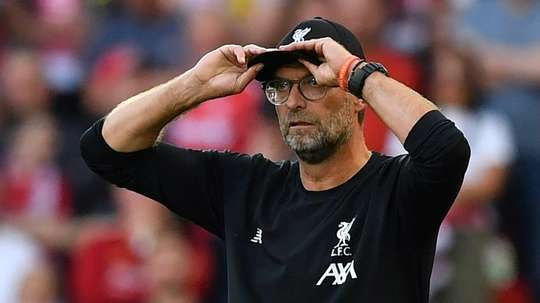 Klopp is not concerned by the fact his team have just one clear sheet so far this season. AFP