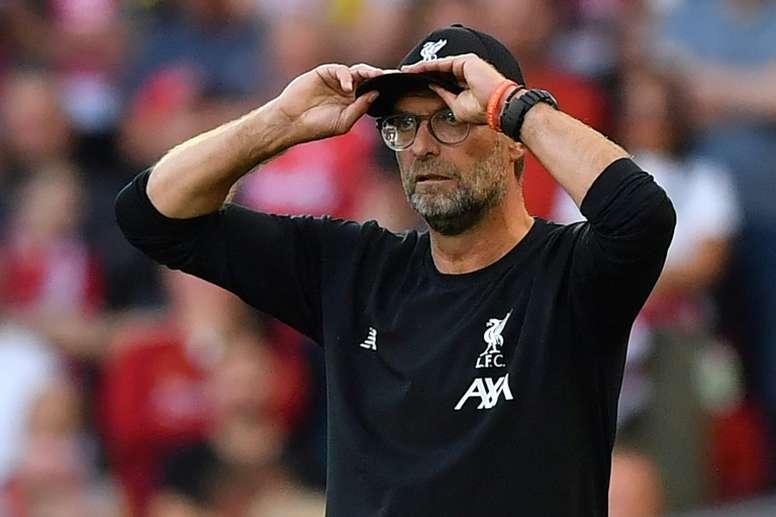 Klopp élu meilleur entraîneur du mois de septembre en Angleterre. EFE
