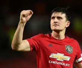 Maguire confident Man Utd on course to compete for titles again. AFP