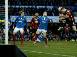 El Portsmouth consiguió ascedner a la League One. AFP