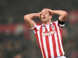 El Stoke sigue recuperándose de su mal inicio de la Premier. AFP