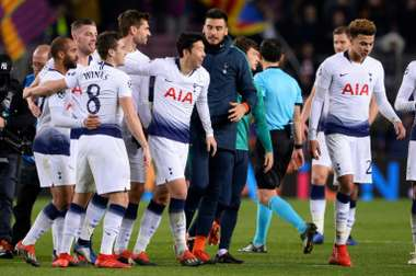 Pochettino's men continue to have it tough in the Champions League. AFP