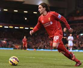 Lazar Markovic has been a burden to Liverpool, but could see a move soon. AFP