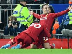 Liverpool won 5-2. AFP