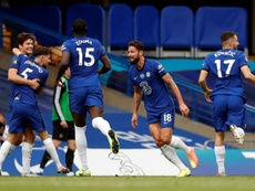 Chelsea sink Wolves to book place in Champions League. AFP