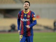 Returned with interest: Lionel Messi. AFP