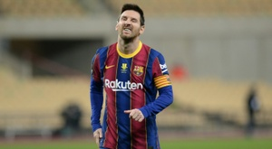 Returned with interest: Lionel Messi. AFP