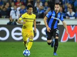Kagawa veut jouer en Espagne. AFP
