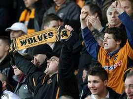 El Wolverhampton se ha merendado a los 'potters' en el Bet365 Stadium. AFP/Archivo