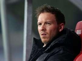 Julian Nageslmann analizó el duelo contra el Tottenham de Mourinho. AFP/Archivo