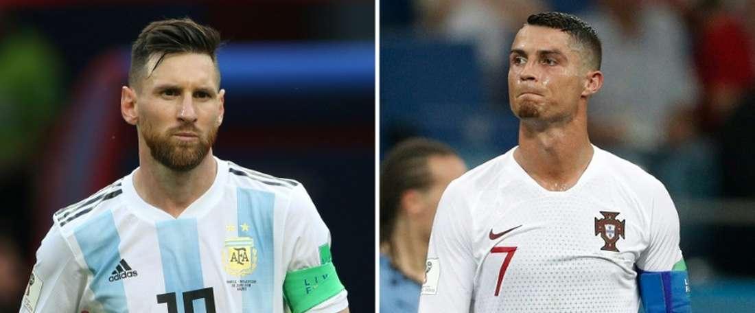 Ronaldo will play Frosinone. AFP