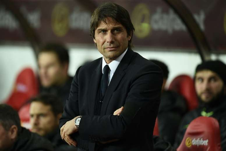 Chelsea head coach Antonio Conte has not played or managed over Christmas. AFP