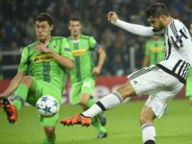 Christensen, du Borussia Moenchengladbach et Álvaro Morata  du Juventus, en Ligue de champions