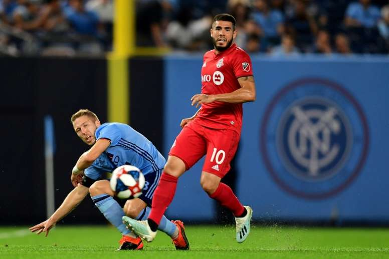 New York pay the penalty as Toronto advance in MLS
