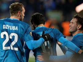Zenits victory narrows their gap on Russian league leaders Spartak Moscow. AFP
