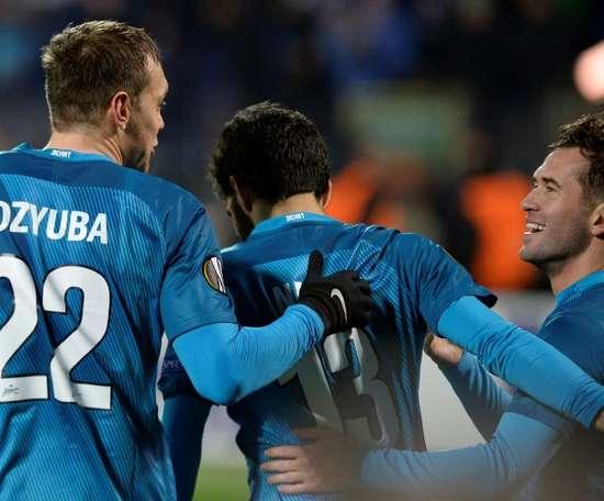 El Zenit es uno de los tres señalados por 'Football Leaks'. AFP/Archivo