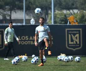 Rossi has been the star of the MLS. AFP