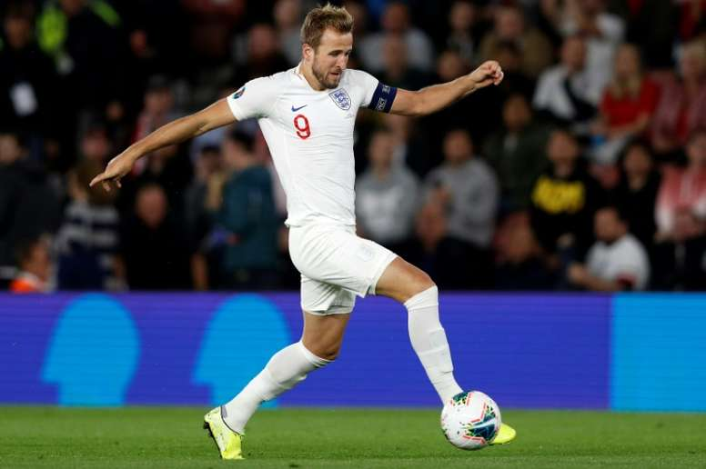 Harry Kane has already scored more than half of the goals Rooney got for England. AFP