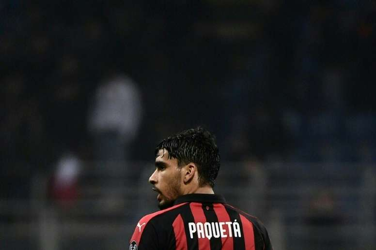 Brazil's Paqueta dedicates first Serie A goal to Flamengo fire victims. AFP