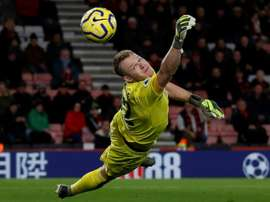 Bournemouth GK Aaron Ramsdale may have got COVID-19 while shopping. AFP