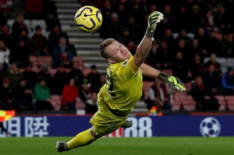 El Sheffield United podría recuperar a Aaron Ramsdale. AFP