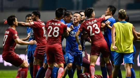 Chinese fans feel too harshly punished by their FA. AFP