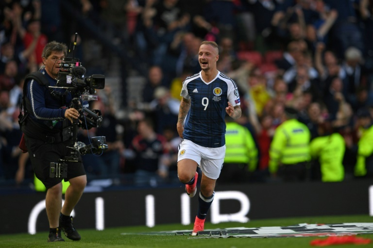 Griffiths withdraws from Scotland squad