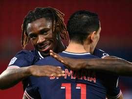 Le formazioni ufficiali di Montpellier-PSG. AFP