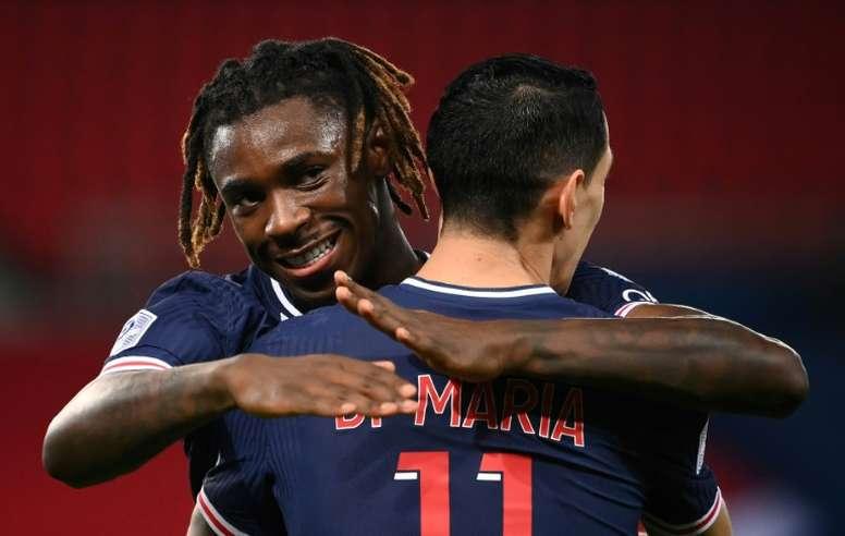 Le formazioni ufficiali di PSG-Bordeaux. AFP