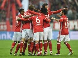 El Bayern se deshizo del Augsburgo y se clasificó para la siguiente ronda. AFP