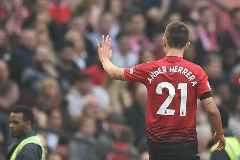 Ander Herrera could put some money into Zaragoza. AFP