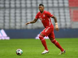 Jerome Boateng is open to contract extension talks at Bayern. AFP