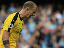 La MLS veut Joe Hart. AFP