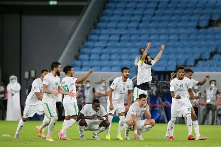 Al Ahli of Saudi are into the quarters of the Asian Champions League. AFP