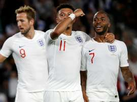 England's performance promising but errors must be cut out. AFP