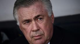 Ancelotti évite les questions sur James. AFP