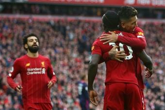 Le trio offensif de Liverpool n'est plus intouchable. AFP