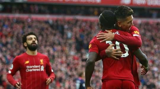 Le formazioni ufficiali di Liverpool-Burnley. AFP