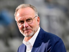 Rummenigge was angry. AFP