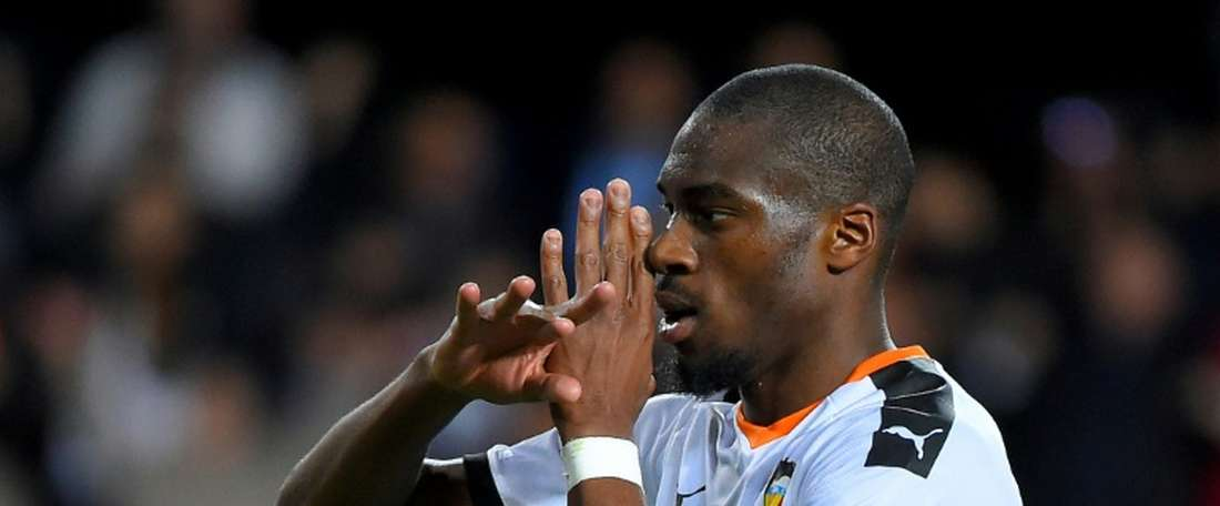 Kondogbia scored as Valencia came from behind to put four past Lille. AFP