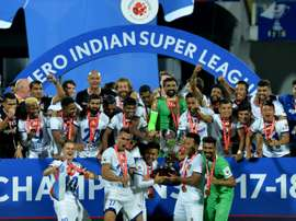 Chennai lifted the ISL after goal's from Alves and Augusto. AFP