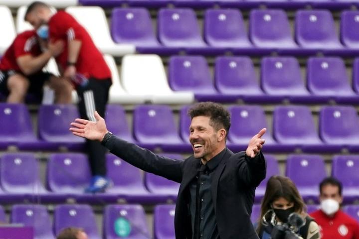 Simeone, l'atout de l'Atletico pour recruter des stars. afp