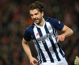 Jay Rodriguez has been resigned by Burnley after seven years away. AFP