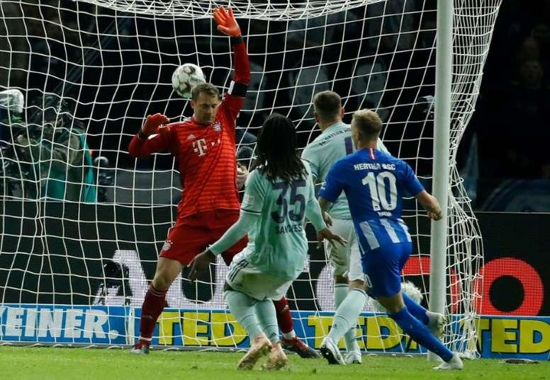 Ondrej Duda was on target for Hertha. AFP